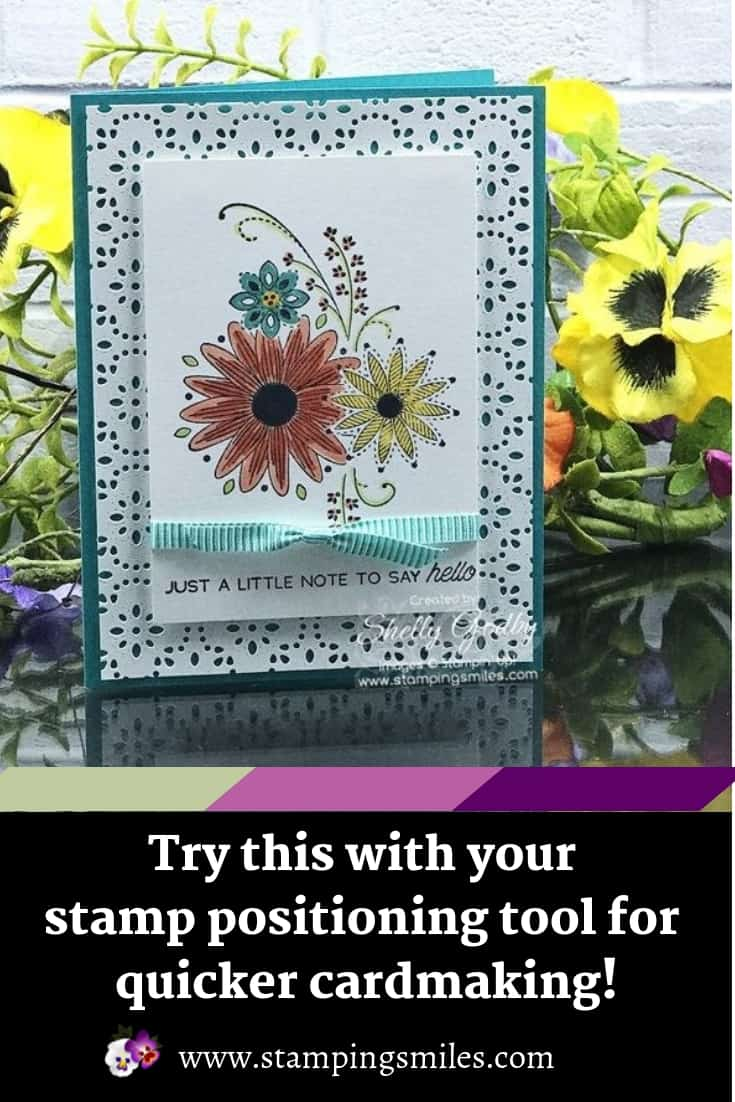 Try This with Your Stamp Positioning Tool for Quicker Cardmaking