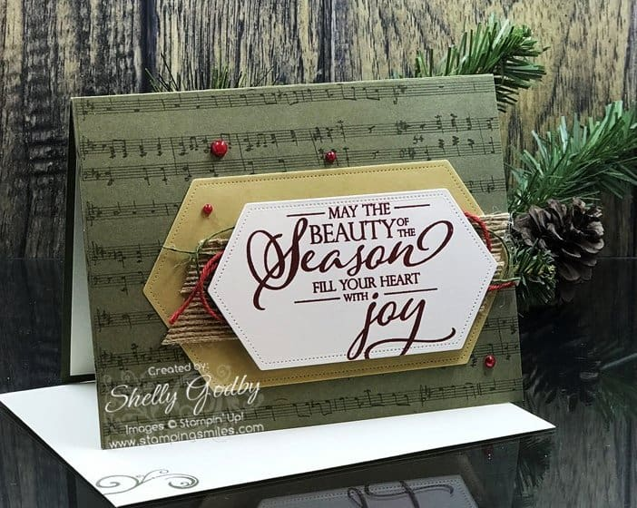 Christmas Countdown with a Stampin' Up! Merry Christmas to All Card