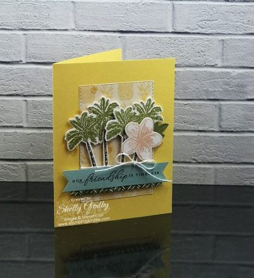 Stampin' Up! Timeless Tropical card idea