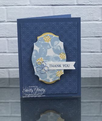 Easy and elegant Stampin' Up! Blossoms in Bloom cards by Shelly Godby of www.stampingsmiles.com