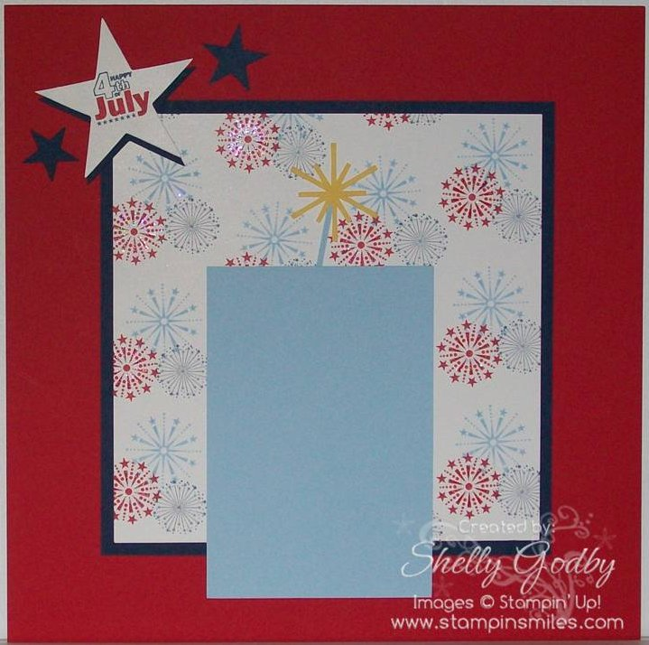 I Stamped A Birthday Card With July And Then Used The For My Inspiration 12 X Scrapbook Page You Will See Both In Video