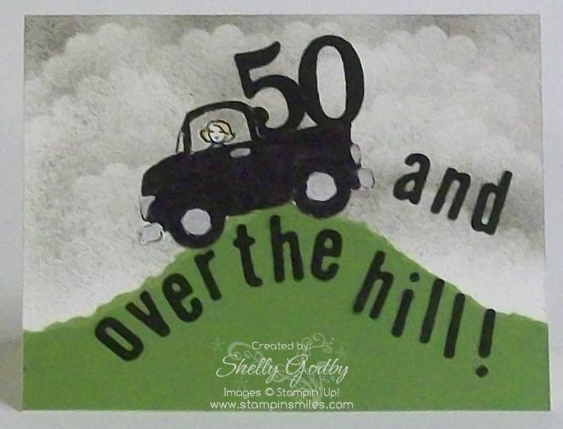 50th Birthday Card Stamping Smiles